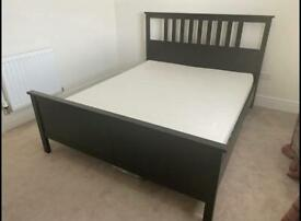 IKEA Hemnes King Size Bed and Mattress