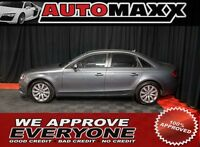 2012 Audi A4 2.0T $229 Bi-Weekly! APPLY NOW DRIVE NOW!