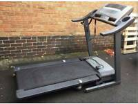 PRO FORM 585 PERSPECTIVE TREADMILL RUNNING MACHINE WITH TV BUILT IN