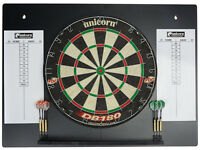 Dart Board - Unicorn DB180 HDC - PDC Endorsed - With Back Board/Score Board - NEW - 2 sets of Darts