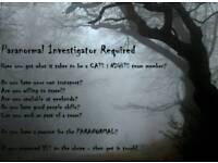 Paranormal Investigator Required