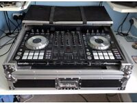 Pioneer DDJ SX with Magma workstation/ flightcase