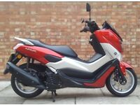 Yamaha NMAX 125cc (16 REG), Excellent condition, ONLY 1224 Miles.