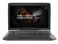 Asus ROG GX800VH(KBL)-GY004T (18.4 inch) Notebook Core i7
