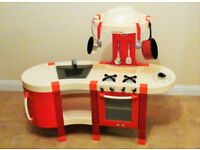 Play Kitchen with Accessories and Food