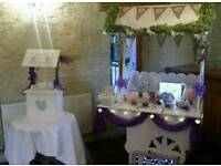 Candy cart & wishing well postbox to hire