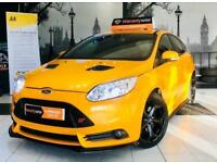 ★🌟RRRRAPID CAR🌟★2013 FORD FOCUS ST-3 TURBO 2.0L 250 BHP★2 OWNERS★LEATHER INTERIOR★KWIKI AUTOS★
