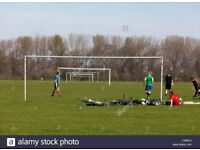 Casual football players in Hackney Saturday mornings, all levels welcome