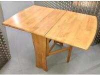 pine dropleaf table