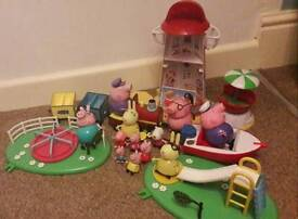 Peppa pig toy bundle