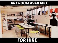 Art Room for hire at Westside School - Contact us for pricing PER HOUR!