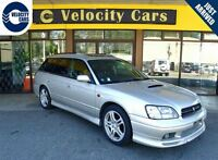 1998 Subaru Legacy TWIN TURBO DUAL SUNROOF 4WD 1 YR WRNT 69 KMs