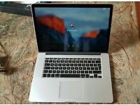 Late 2013 15 Retina Apple Macbook Pro i7 2.3Ghz 16GB RAM 512 SSD 2GB Nvidia 750