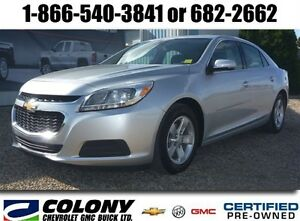 2014 Chevrolet Malibu LS, Air/Cruise, Bluetooth
