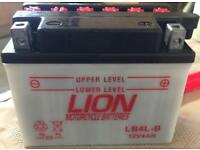 LION MOTORCYCLE BATTERY
