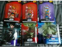 Disney Infinity 3.0 figures and power disks all BNIB