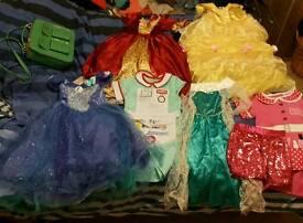 Selection of girls dressing up/ disney