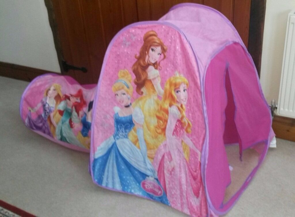 Disney Princess Play Tent With Tunnel Best 2018 & Princess Tent With Tunnel - Best Tent 2018