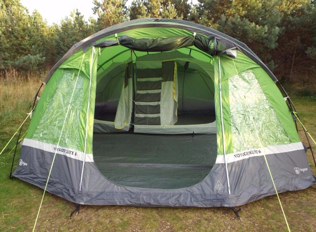Hi Gear Voyager Elite 6 Family Tent & Hi Gear Voyager Elite 6 Family Tent | in Cumbernauld Glasgow ...