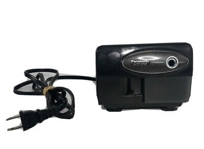 Panasonic Auto-stop Kp-310 Electric Pencil Sharpener Mint Fast Free Shipping