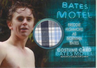 Bates Motel Season 2 - Costume Card CFH1 Freddie Highmore as Norman Bates (Norman Bates Costume)