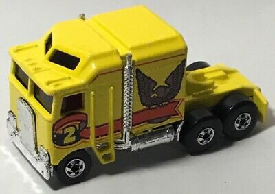 Vtg Hot Wheels 1982 Workhorses Thunder Roller Semi Cab Truck Hong Kong Nice