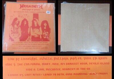 Megadeth - Holland Is Good! Vinilo Color Lp Edición limitada Numerada solo...