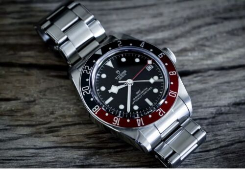 Tudor Black Bay GMT Pepsi Bezel Watch 79830RB-0001 Full Set + Warranty + NEW! - watch picture 1