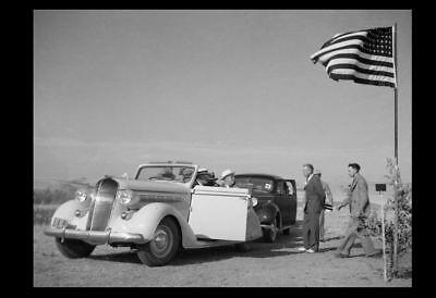1936 Dust Bowl PHOTO North Dakota, President Franklin Roosevelt Great Depression