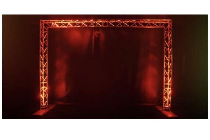 CHAUVET DJ Trusst QT-GOAL Portable Goal Post Kit 7.9ft H X 11ft L W/Stage Clamps