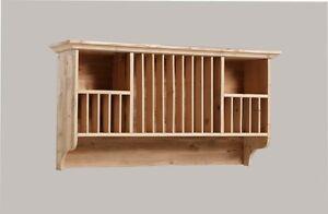 Piattaia in legno massello abete vecchio per cucina for Antine in legno grezzo per cucina
