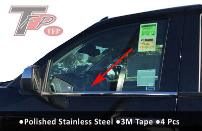 2014-2018 Chevrolet Silverado Stainless Steel Window Sill Crew Cab