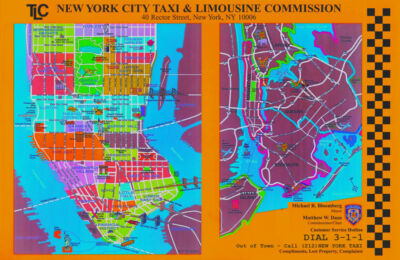 New-york-city-taxi-map