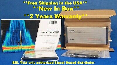 Signal Hound Bb60c Real Time Spectrum Analyzer 6 Ghz