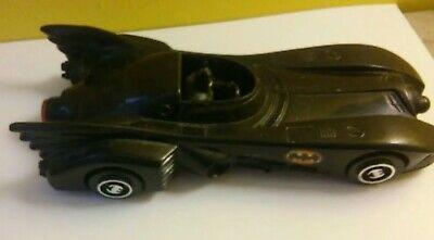 Vintage 1989 DC Comics BATMAN Batmobile Toy Car 7 inches long