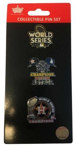 Houston Astros Baseball 2017 Championship Lapel Pin Collector Set Amincousa
