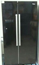 Fridge Freezer Swan SR8070B American-Style Frost-Free