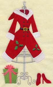 Mrs. Claus Dress Form and Heels Embroidered Block St. John's Newfoundland image 1