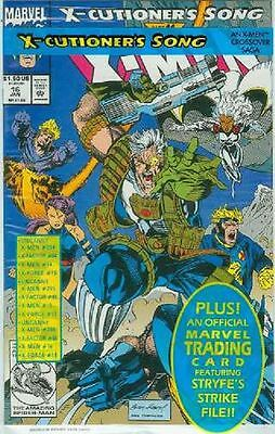 X-Men (2nd series) # 16 (with trading card) (USA, 1992)