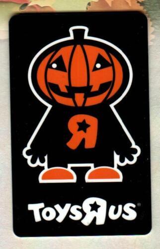 TOYS R US Halloween Jack-O-Lantern Man 2007 Gift Card ( $0 )