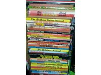 RARE VINTAGE VERY OLD ANNUALS COLLECTION OF APPROX 40 .