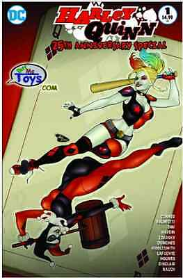 HARLEY QUINN 25th ANNIVERSARY SPECIAL 1 ANT LUCIA BUY ME VARIANT NM