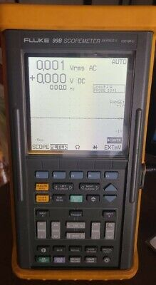 Fluke Scopemeter 99b Series Ii 100 Mhz With Charger But Needs Battery Replaced