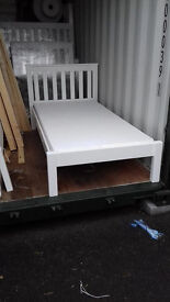 BRAND NEW!!! SOLID PINE SINGLE BEDS. VERY STURDY!!!FREE DELIVERY IN PORTSMOUTH