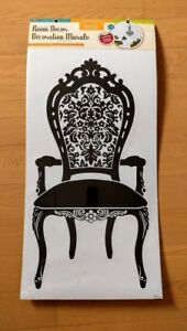 Room wall decal/mural peel and stick - Black Chair