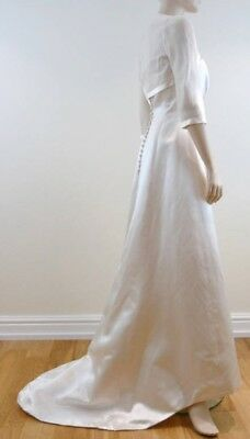 New Berketex Bride Wedding Bridal Shrug Bolero 3//4 Sleeve Cover Up Jacket Top