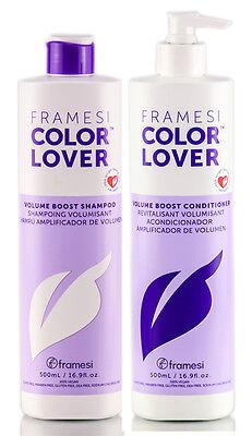FRAMESI Color Lover Volume Boost Shampoo & Conditioner 16.9 fl oz duo