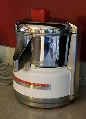 ACME SUPREME JUICERator Model 6001 Stainless Steel Commercial Juicer Vintage