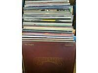 100+ very good condition vintage vinyl records