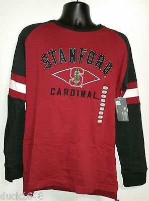 Knights Apparel Stanford Cardinals Long Sleeve Tee Shirt T Shirt New W Tags